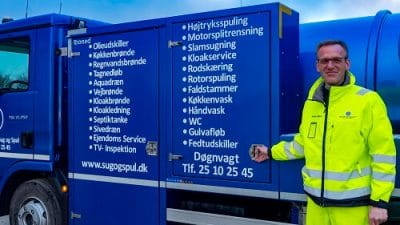 NSS Sug og Spul - Kloakservice - Stoppet afløb - Stoppet toilet